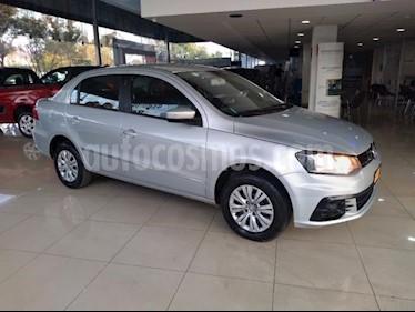 Volkswagen Gol 5p Trendline L4/1.6 Man usado (2017) color Plata precio $138,000