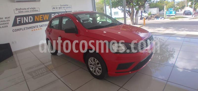 Volkswagen Gol Trendline usado (2020) color Rojo precio $188,000