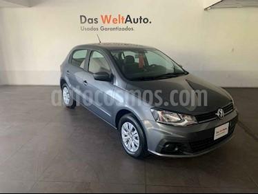 Volkswagen Gol 5p Trendline L4/1.6 Man usado (2018) color Gris precio $172,000