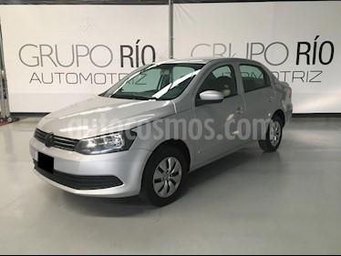 Volkswagen Gol CL Seguridad usado (2014) color Plata precio $109,000