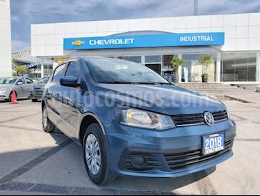 Volkswagen Gol Trendline usado (2018) color Azul Laguna precio $160,000