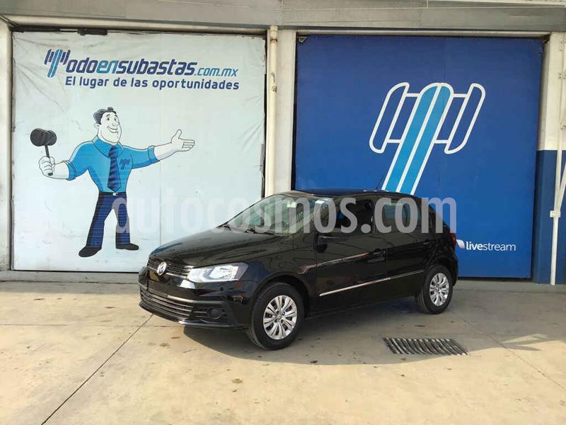 Volkswagen Gol Trendline usado (2018) color Negro precio $38,000
