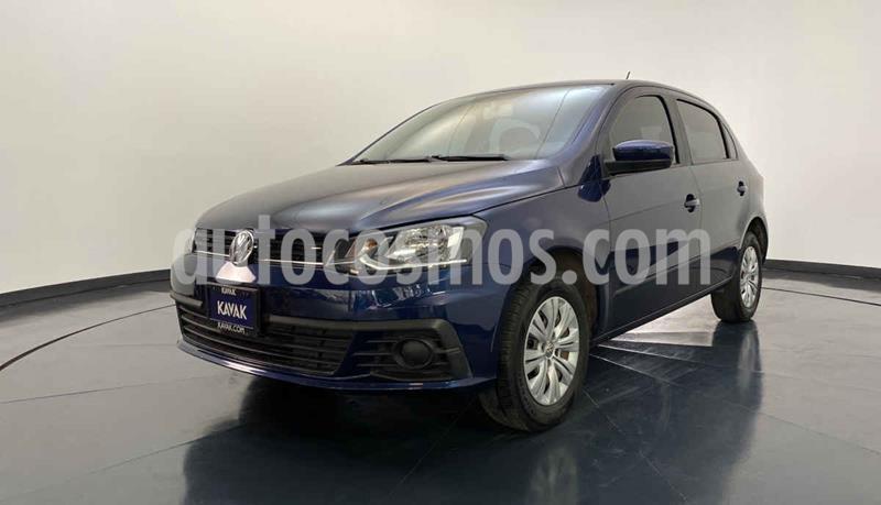 Volkswagen Gol Version usado (2017) color Azul precio $149,999