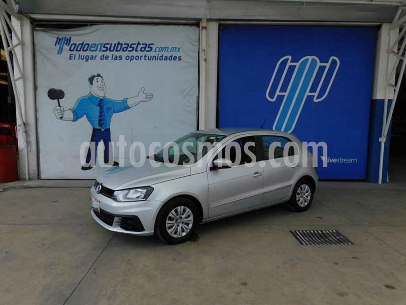 Volkswagen Gol Trendline usado (2018) color Plata precio $78,000