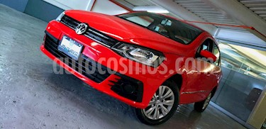 Volkswagen Gol Trendline usado (2017) color Rojo precio $165,000