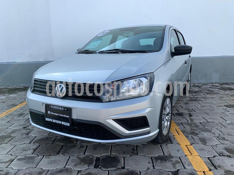 Volkswagen Gol Trendline Seguridad usado (2020) color Plata precio $189,900