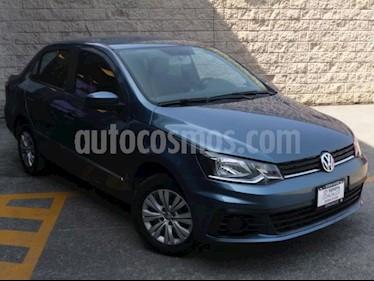 Volkswagen Gol 5P TRENDLINE L4/1.6 MAN usado (2018) color Azul precio $159,000