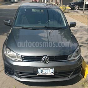 Volkswagen Gol Trendline usado (2018) color Gris Platino precio $130,000