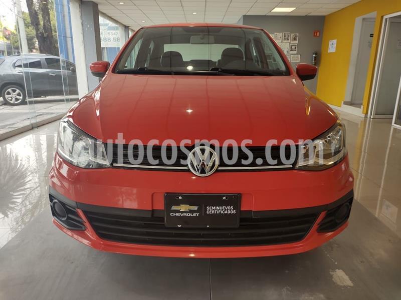 Volkswagen Gol Trendline usado (2017) color Rojo precio $150,000