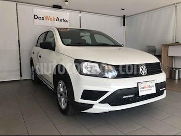 Volkswagen Gol 5p 5 Ptas. Trendline usado (2020) color Blanco precio $195,000