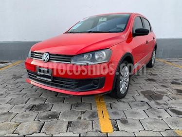 Foto Volkswagen Gol Track usado (2016) color Rojo Flash precio $138,000
