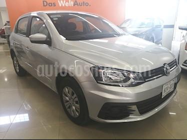 Foto venta Auto usado Volkswagen Gol Trendline Ac Seguridad (2018) color Plata precio $155,000