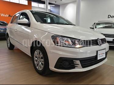 foto Volkswagen Gol Trendline Ac usado (2017) color Blanco Cristal precio $120,000