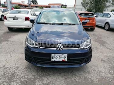 foto Volkswagen Gol Trendline Ac usado (2017) color Azul precio $147,000