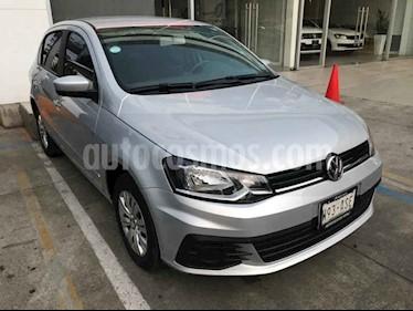 Foto Volkswagen Gol Trendline I-Motion Aut usado (2018) color Plata precio $184,000