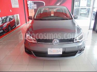Foto venta Auto usado Volkswagen Gol Trendline (2018) color Gris precio $146,625