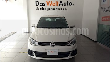 Foto venta Auto Seminuevo Volkswagen Gol Trendline (2018) color Blanco Candy