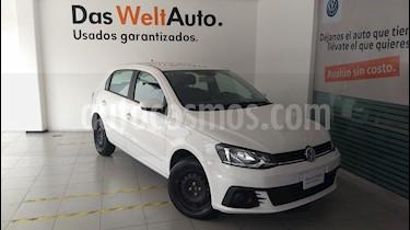 Foto venta Auto Seminuevo Volkswagen Gol Trendline (2018) color Blanco Candy precio $179,000
