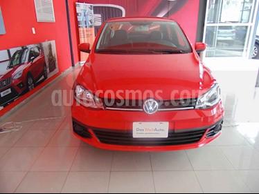 Foto venta Auto usado Volkswagen Gol Trendline (2018) color Rojo precio $177,000