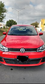Foto Volkswagen Gol Trendline usado (2017) color Rojo Flash precio $130,000