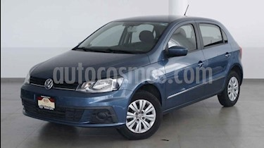 Foto venta Auto usado Volkswagen Gol Trendline (2018) color Azul precio $179,000