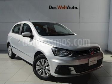 Foto venta Auto usado Volkswagen Gol Trendline (2017) color Plata precio $149,000