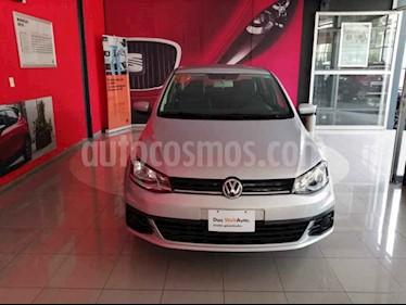 Foto venta Auto usado Volkswagen Gol Trendline (2018) color Plata precio $144,565