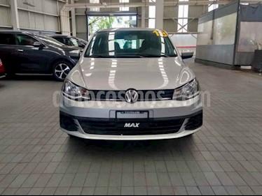 Foto venta Auto usado Volkswagen Gol Trendline (2018) color Plata precio $179,000