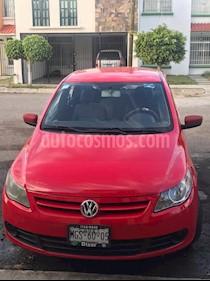 Foto venta Auto Seminuevo Volkswagen Gol Trendline (2011) color Rojo precio $79,500