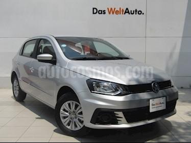 Foto venta Auto usado Volkswagen Gol Trendline (2018) color Plata precio $189,000