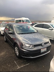 Foto venta Auto usado Volkswagen Gol Trendline (2017) color Gris Platino precio $139,000