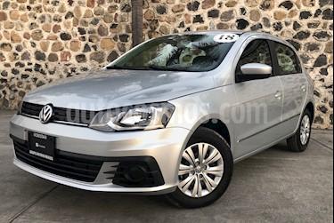 Foto venta Auto usado Volkswagen Gol Trendline (2018) color Plata precio $240,000