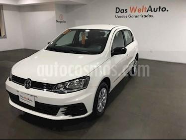 Volkswagen Gol Trendline usado (2018) color Blanco precio $175,000