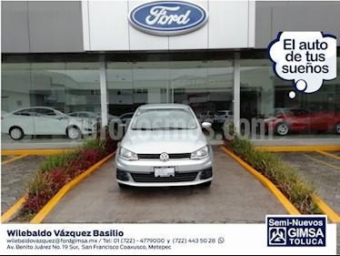 Foto venta Auto Seminuevo Volkswagen Gol Trendline (2018) color Plata precio $159,000