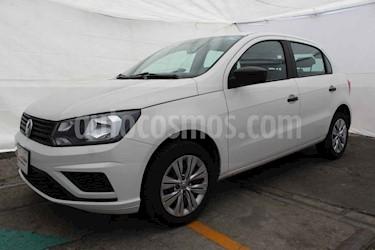 Foto venta Auto usado Volkswagen Gol Trendline (2019) color Blanco precio $183,000
