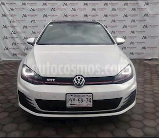 Volkswagen Golf GTI 2.0T DSG Navegacion Piel usado (2016) color Blanco precio $358,888
