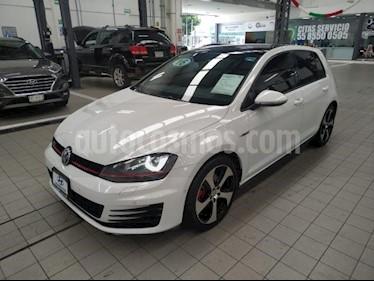 Foto venta Auto usado Volkswagen Golf GTI 2.0T DSG Navegacion Piel (2016) color Blanco precio $350,000