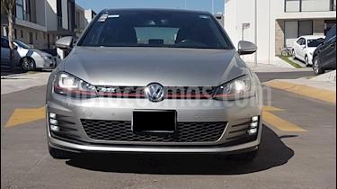 Volkswagen Golf GTI 2.0T DSG Piel usado (2015) color Plata Tungsteno precio $315,000