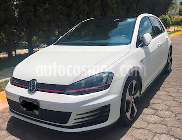 Volkswagen Golf GTI 2.0T DSG Piel usado (2017) color Blanco precio $358,000