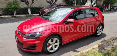 Volkswagen Golf GTI 2.0T DSG Piel usado (2015) color Rojo precio $287,500