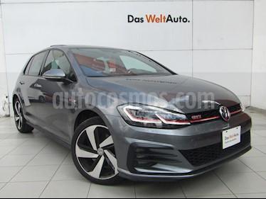 Volkswagen Golf GTI 2.0T DSG usado (2019) color Gris Platino precio $455,000