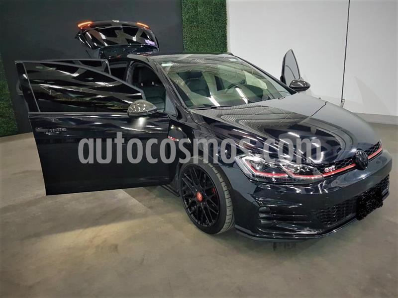 Volkswagen Golf GTI 2.0T Piel y Navegacion usado (2019) color Negro Magico precio $449,999