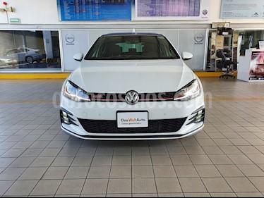 Volkswagen Golf GTI 2.0T Piel y Navegacion usado (2019) color Blanco precio $494,900