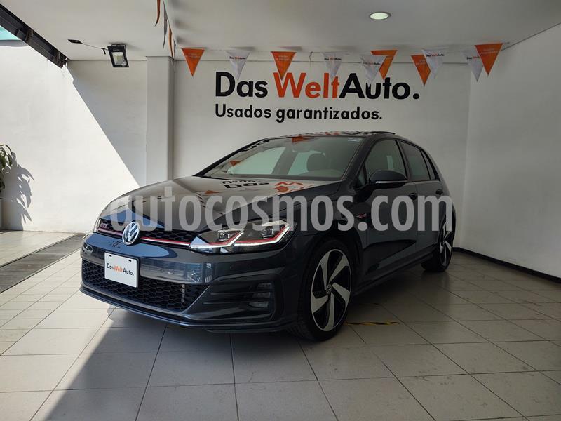 Volkswagen Golf GTI 2.0T DSG usado (2019) color Gris Platino precio $479,000