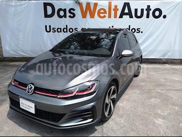 Volkswagen Golf GTI 2.0T DSG Piel usado (2019) color Gris Platino precio $455,000