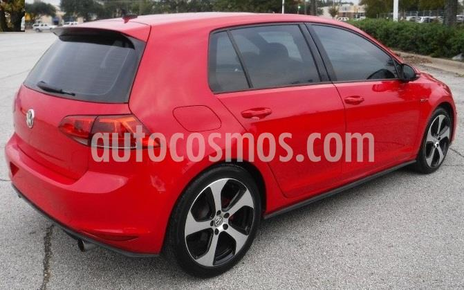 Volkswagen Golf GTI 2.0T usado (2018) color Rojo Tornado precio $80,000