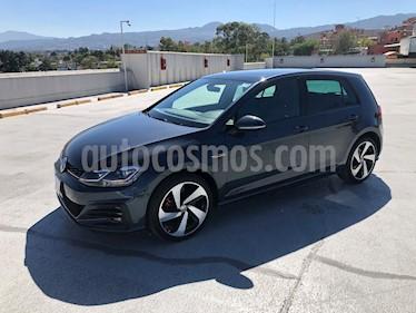 Volkswagen Golf GTI 2.0T DSG Piel usado (2018) color Gris Platino precio $450,000