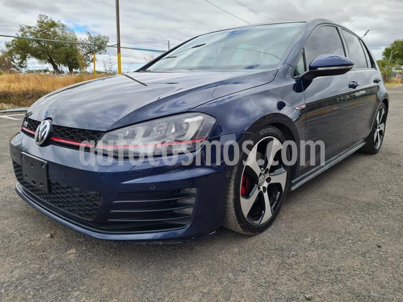 Volkswagen Golf GTI 2.0T DSG Navegacion Piel usado (2017) color Azul Oscuro precio $335,000
