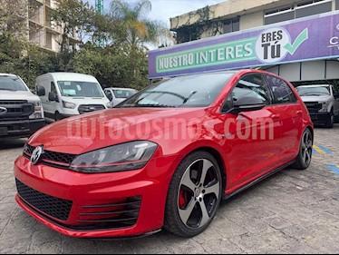 Volkswagen Golf GTI 2.0T DSG Navegacion Piel usado (2015) color Rojo precio $349,000
