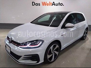 Volkswagen Golf GTI 2.0T DSG Piel usado (2018) color Blanco precio $465,000